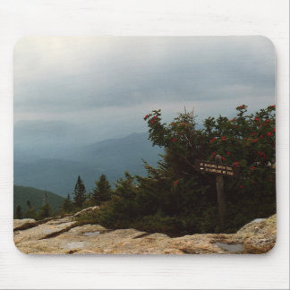 Sign on the Mountain Mouse Pad