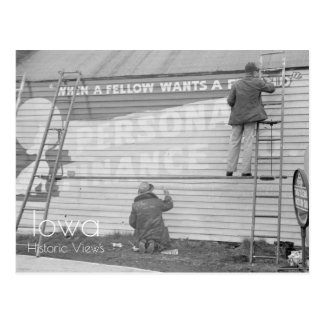 Sign Painters Postcard