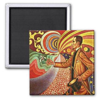 Signac: Portrait of Felix Feneon Magnet