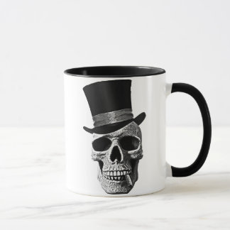 Signal hat skull mug