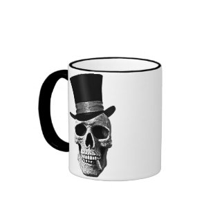 Signal hat skull ringer mug