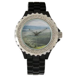 Signal Mountain Valley Wildflowers Wristwatch