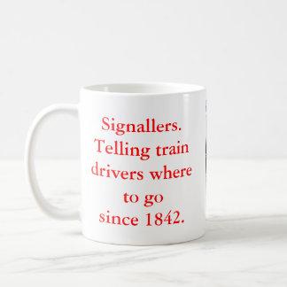 Signallers' Large Mugs