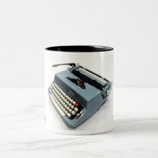 Signature 5100 typewriter Two-Tone coffee mug