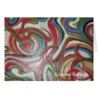Signature Abstract Greeting Card