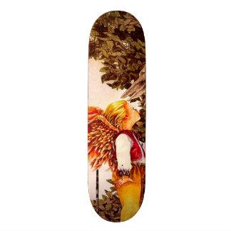 Signature Billy Angel Kid Custom Pro Park Board Skateboard