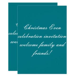 signature flat card invitation