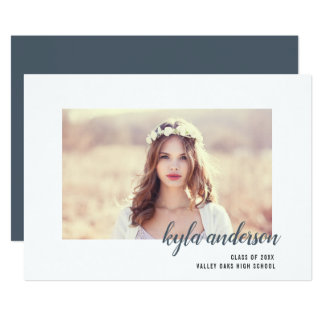 Signature Frame | Photo Graduation Party Invite