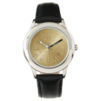 Signature Gold Watch