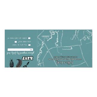 "Signature: Matte 4"" x 9.25"", Standard white envelo Card"