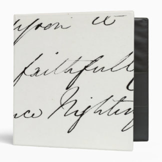Signature of Florence Nightingale Binders