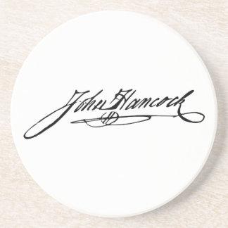 Signature of Founding Father John Hancock Coaster