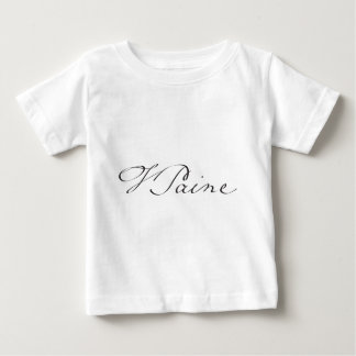 Signature of Founding Father Thomas Paine Baby T-Shirt