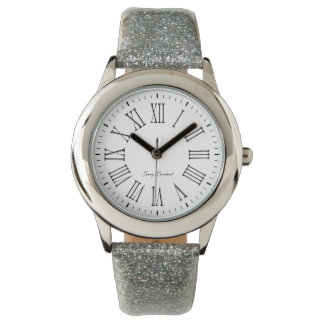 Signature Roman White Watch