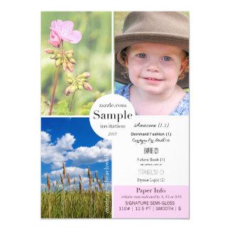 Signature Semi-Gloss 2015 Paper Sample Card