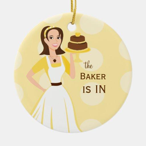 Signe de Baker in/out Décoration Pour Sapin De Noël