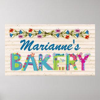 Signe de boulangerie/Chambre - SRF Poster