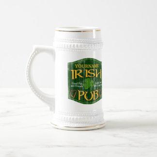 Signe irlandais personnalisé de Pub Mug