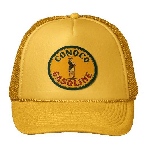 """""""Signe vintage de gaz de Conoco """" Casquettes"""