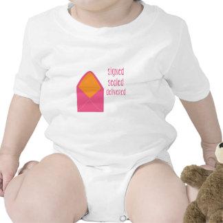 Signed Sealed Delivered Baby Bodysuits