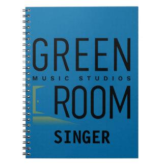 Signer Green Room Music Studios Notebook