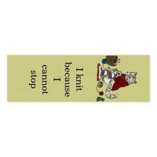Signet de don de Merci - maigre Carte De Visite Petit Format