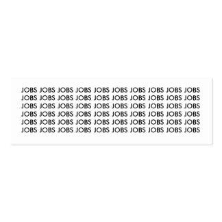 Signet de JOBS<JOBS<JOBS Modèles De Cartes De Visite