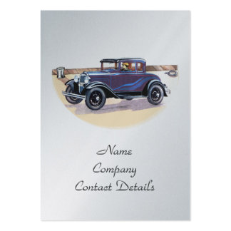 signet vintage ou carte de platine d automobile de carte de visite