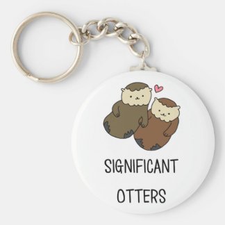 SIGNIFICANT OTTERS couple's shirts, accessories Keychain