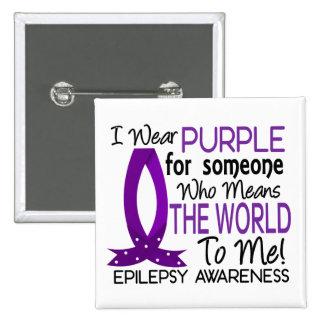 Signifie le monde à moi épilepsie badge