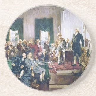 Signing of the Constitution by Howard C. Christy Coaster