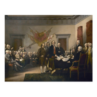 Signing of the Declaration of Independence Postcard
