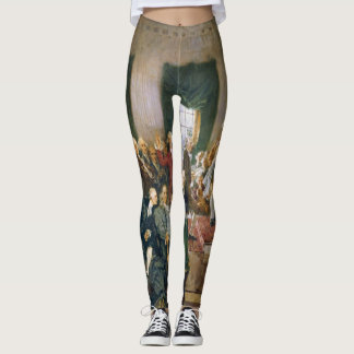 Signing of the United States Constitution USA Leggings