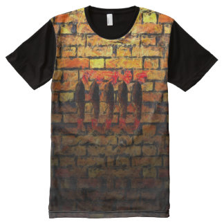 Signing On All-Over-Print T-Shirt