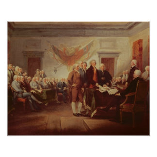 Signing the Declaration of Independence, 4th Poster