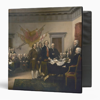 Signing the Declaration of Independence, July 4th Binder