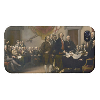 Signing the Declaration of Independence, July 4th Case For iPhone 4