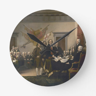 Signing the Declaration of Independence, July 4th Clock