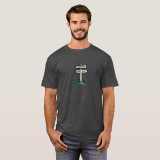 Signpost at a Crossroads T-Shirt