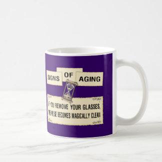 Signs of Aging - Clean House Coffee Mug