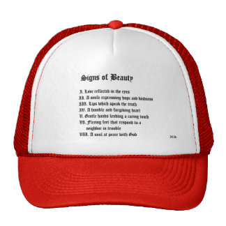 Signs of Beauty Trucker Hat