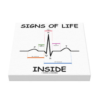 Signs Of Life Inside EMT Medical Heartbeat Humor