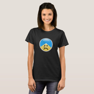 Sikh American Crying Turban Emoji T-Shirt