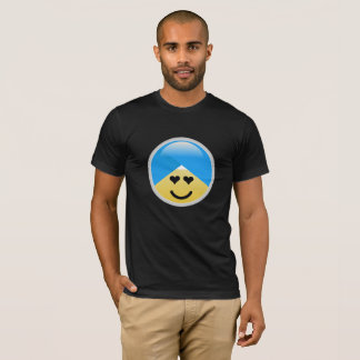 Sikh American Heart Eyes Turban Emoji T-Shirt