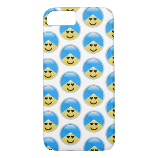Sikh American Heart Turban Emoji iPhone 8/7 Case