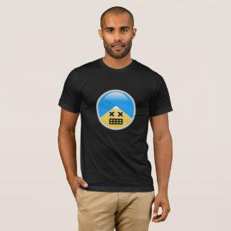 Sikh American Huge Grin Turban Emoji T-Shirt