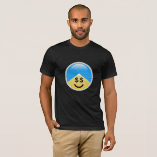 Sikh American Money Eyes Turban Emoji T-Shirt