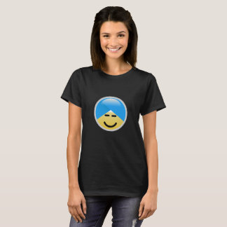 Sikh American Smiley Turban Emoji T-Shirt