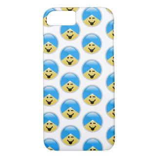 Sikh American Winking Turban Emoji iPhone 8/7 Case