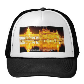 Sikh The Golden Temple In India Gifts & Tees Trucker Hat